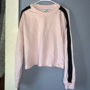 Hollister Cropped Crew Long sleeve Sweater